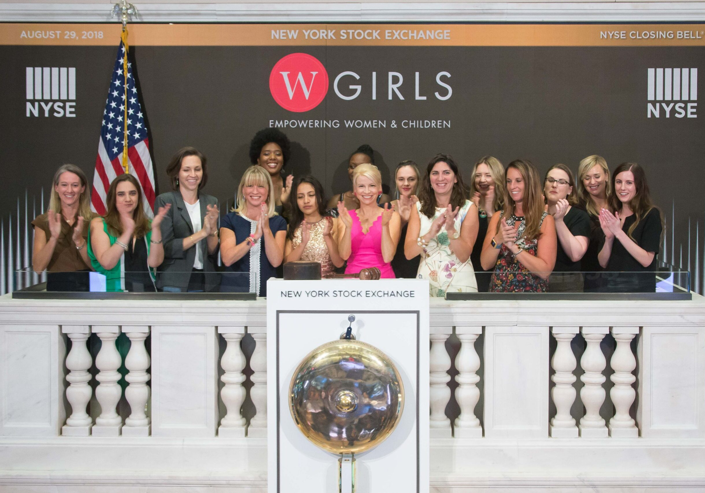 The New York Stock Exchange welcomes WGIRLS Inc. in celebration of their 10th anniversary. Founder Amy Heller, joined by NYSE President Stacey Cunningham, rings The Closing Bell®